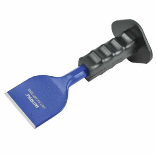 "Faithfull FAIBB3PG Brick Bolster with Safety Grip 75mm x 225mm (3"" x 9"")"